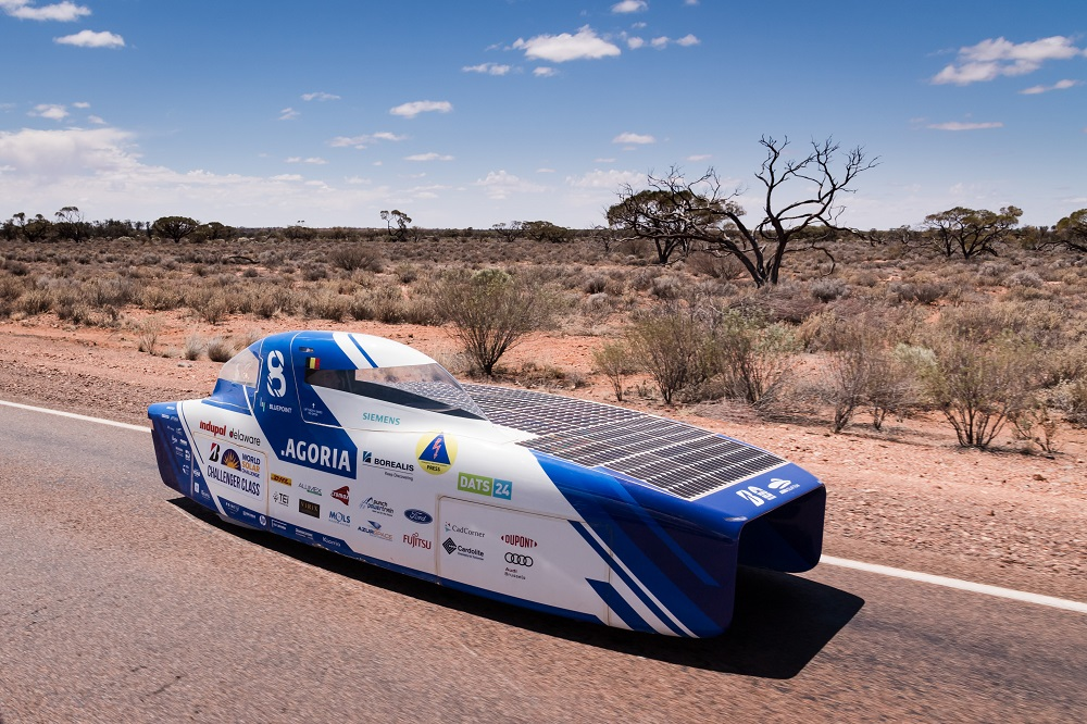 Agoria Solar Team's solar car
