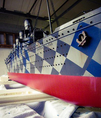Massive 3D-Printed Replica of a Legendary WWI Ship Makes Waves