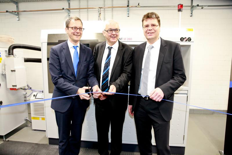 Opening of Materialise Metal 3D Printing facilities in Bremen, Germany