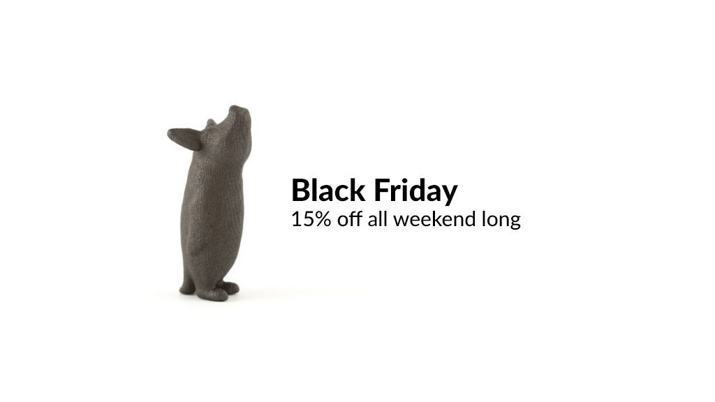 Black Friday Savings: Get 15% All Weekend Long!