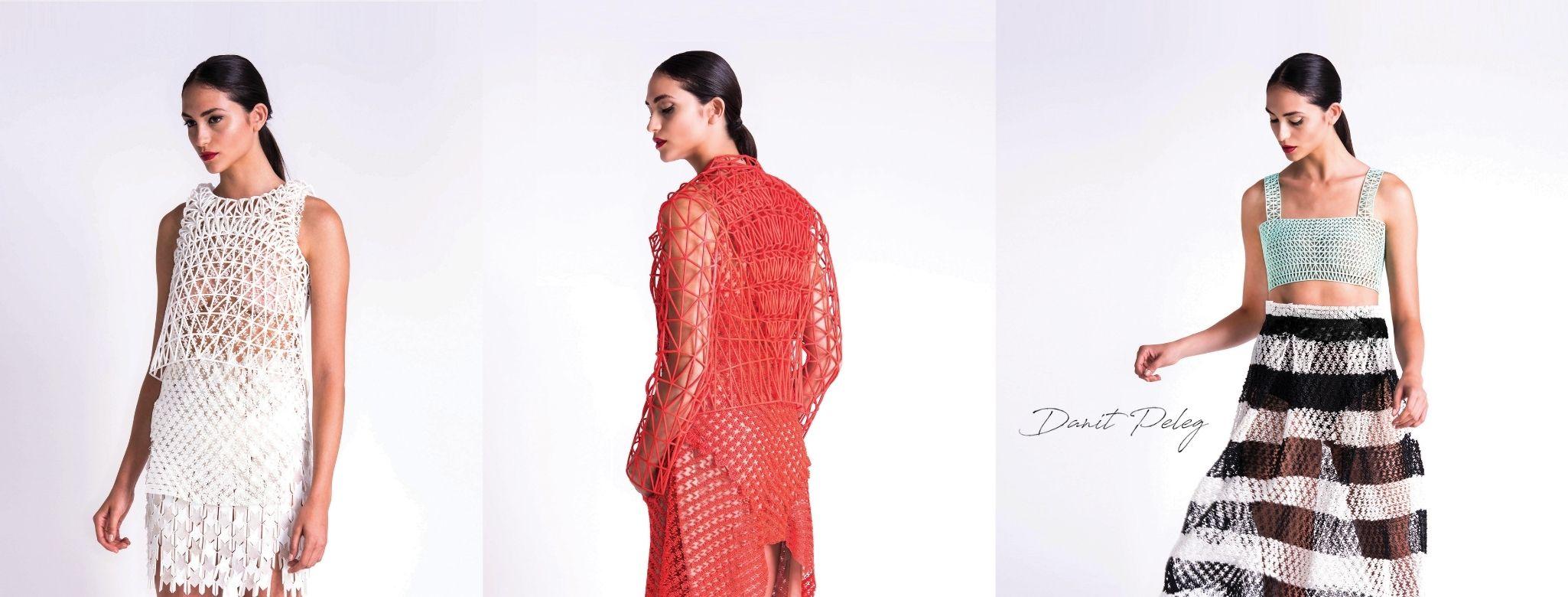 3D-printed fashion pieces by Danit Peleg