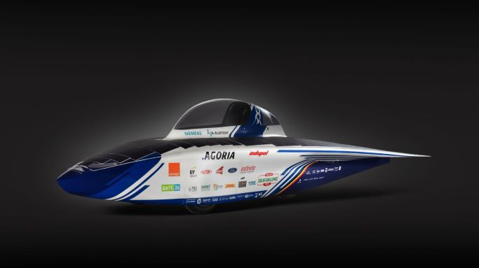 BluePoint Atlas solar car