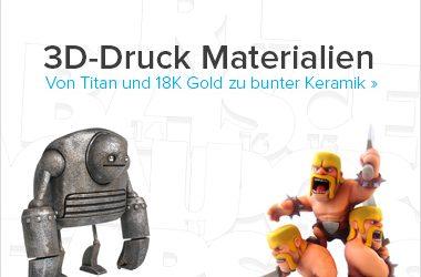 3D-Druck Materialen