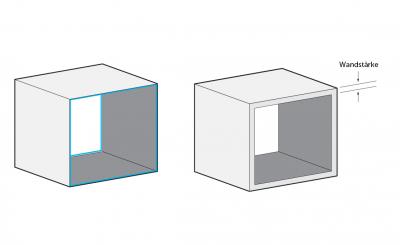 Die richtige Wandstärke für Ihren 3D-Druck
