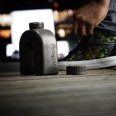 A Stainless Steel Bottle in the Shape of a Horseshoe: Kickstarter and 3D Printing Make it Possible