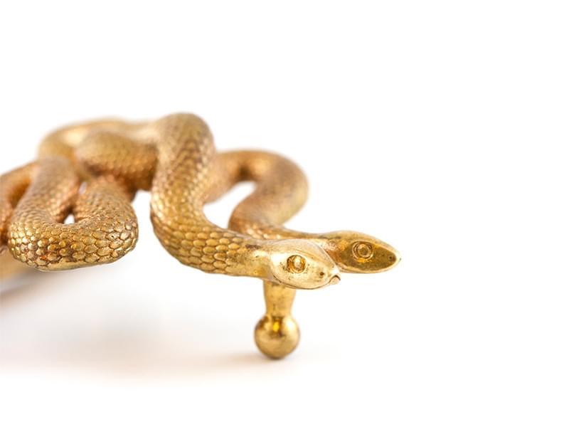 Serpents Buckle By Michael Mueller