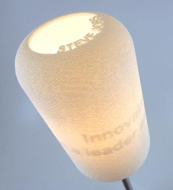 3D printed Appear lamp