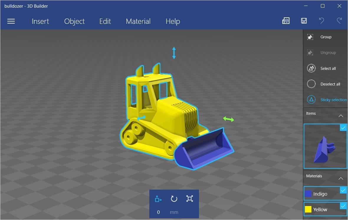 Microsoft 3d Builder 3d Design Tools I Materialise