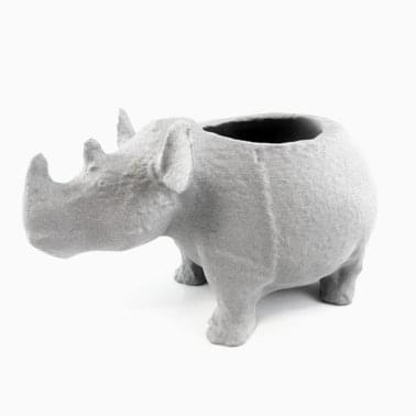 Bronze Rhinoceros by Autodesk 123D Catch vessel courtesy of the Asian Art Museum of San Francisco