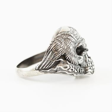 Skull Ring Born to Ride by Ziggy Hentze – ZeroGrafx  - Namibia