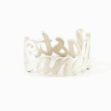 Text Ring by Jweel