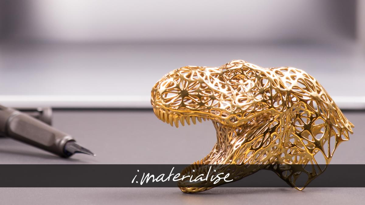 Online Brass 3D Printing Service | i materialise