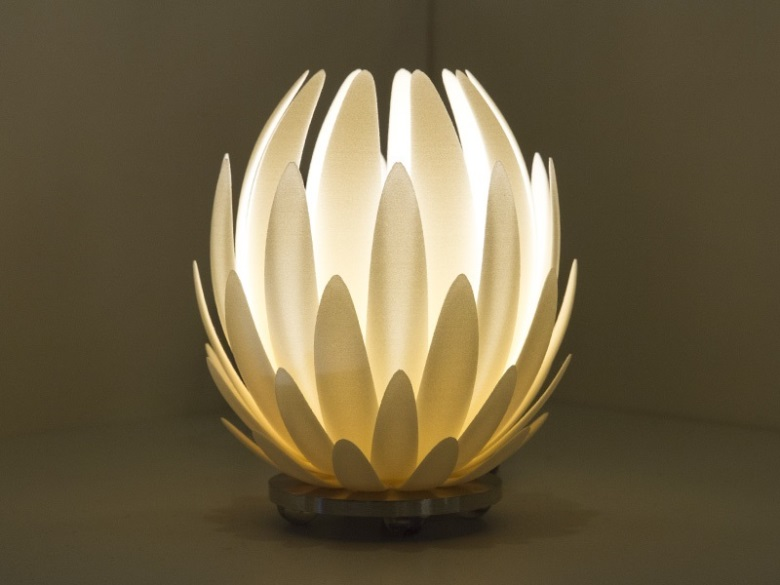 LilyMGX Low Table Lamp Small 3D Printing Shop I