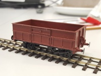 Tasmanian Government Railways L class coal wagon HOn3.5